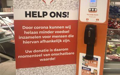 Proef donatiezuil voor meer opbrengsten
