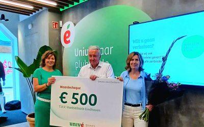 Univé doneert € 500 aan Voedselbank Eindhoven